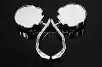 Wholesale Neverland Side Rearview Mirrors For Harley Dyna Low Wide Road King Glide Fat Bob