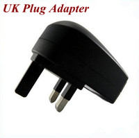 Wholesale Hot sale USB AC Mains UK Plug Adapter charger for CellPhone PDA MP3 MP4 A0524A