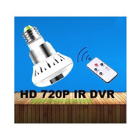 Wholesale E27 Bulb CCTV Security DVR HD P IR Camera