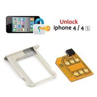 Wholesale S5Q Gevey Blue Plus SIM Card Unlock iPhone G AAAATH
