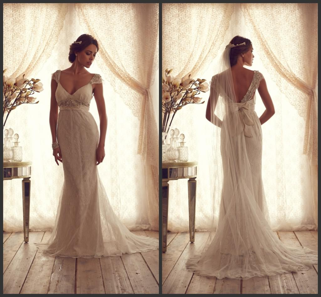 Anna campbell gossamer bridal collection 2013 bellanaija for Anna campbell vintage wedding dress