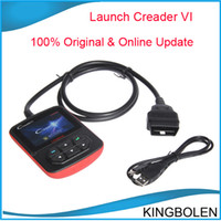 Wholesale Big Promotion Genuine Launch Creader VI Original Online update Auto Code Reader Launch Creader