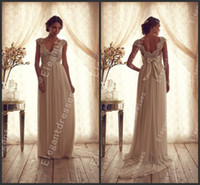 Wholesale 2014 Beautiful Sexy Popular Chiffon Beaded Brial Gowns Fashion Wedding Dresses Bn010
