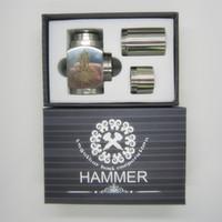 Electronic Cigarette Set Series  Hammer E Pipe Mod Mechanical Mod for 18350 18650 Battery w 510 ego Atomizer Thread E Cigarette