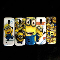 For Samsung Plastic For Christmas Brand new Despicable Me Hard Covers Cases for Samsung Galaxy S3 Mini i8190 Samsung Galaxy S4 Mini i9190 50pcs lot