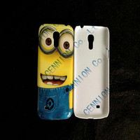 For Samsung Plastic For Christmas Brand new Despicable Me Hard Covers Cases for Samsung Galaxy S3 Mini i8190 Samsung Galaxy S4 Mini i9190 200pcs lot