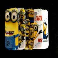 For Samsung Plastic For Christmas Brand new Despicable Me Hard Covers Cases for Samsung Galaxy S3 Mini i8190 Samsung Galaxy S4 Mini i9190 100pcs lot