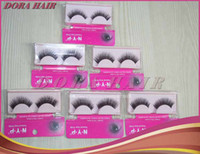 Wholesale Hand Made Natural False Eyelashes Make Up Long Eyelash Extension Human Hair Hot Sale Best Quality Cheap Product