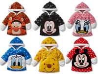 Wholesale Hoodies Children Sweatshirts Hoody Best selling Baby Clothes Super Warmly Outer Top Quality Coat DM61
