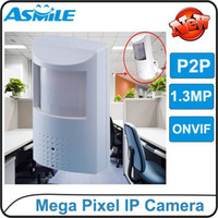 Wholesale 1080P Mega Pixel IP Camera indoor IP camera iPhone and Android remote view POE ONVIF