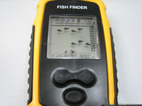 Wholesale Portable LCD Sonar Sensor Fish Finder Ice Fishing beam transducer M Depth Locating the fish best quality