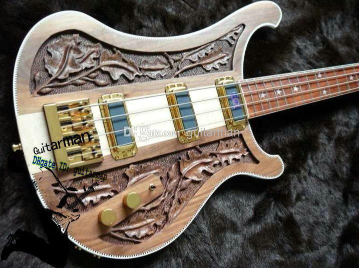 New Arrival 4 String 4003 Electric Bass Guitar Hand Carved