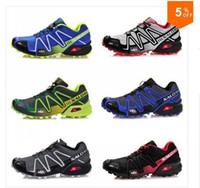 Wholesale Huge Discount Best Name Brand Salomon Shoes Men Athletic Running shoes Hiking Shoes tenis designer Zapatillas Hombres de correr Shoes