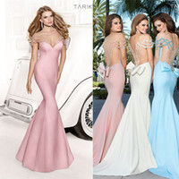 Fashion Off Shouder Formal Mermaid Backless Prom Dresses 201...