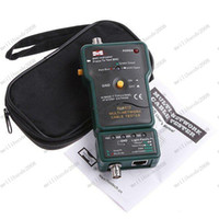 Wholesale Multi Network Cable Tester Meter RJ45 BNC Tests for Coaxial Cable MASTECH MS6810 MYY8251