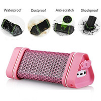 5.1 Universal HiFi Mini Wireless Bluetooth Speaker Waterproof Outdoor Sports Stereo Speaker For iPhone 4S 5 iPad 2 3 4 Mini For iPad Air Pink & Black