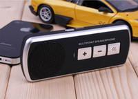 Wholesale Speakerphone Handsfree Bluetooth headphone Bluetooth Car Kit Wireless Speaker ZXJ
