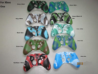 For Xbox Carrying Case Silicone controller case silicon rubber camouflage console case for xbox one free shipping