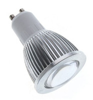 Wholesale New W GU10 High Power COB LED Spot SMD Warm White Light Led Bulb Lamp V V
