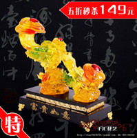 Wholesale Quality large colored glaze gift ruby rich home decoration accessories