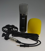 Computer condenser microphone - Hot Sale professional wired microphone for karaoke and studio recording condenser mic of audio accessories parts