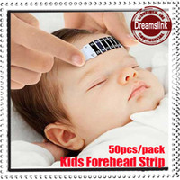 Wholesale Forehead Head Strip Thermometer Fever Body Baby Child Kid Test Temperature