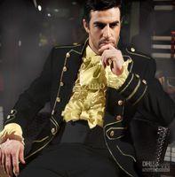 Wholesale Black Groom Tuxedos Formal Best Men s Suits Groomsman Bridegroom Wedding Dress Custom Jacket Pants Girdle