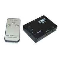 Wholesale 3 Port HDMI Switch Switcher Selector built in IR Receiver