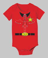 Wholesale Kids bodysuits body baby clothing boys one piece customes DZY604H