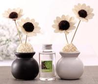 Wholesale Set ml white ceramic aryans gift box aromatherapy essential oil set