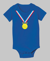 Wholesale Kids blue bodysuits body jumpsuit baby clothing boys one piece customes DZY678H