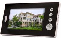 electronic key door lock - 7 quot Wireless Video Door Phone Doorbell Intercom System Touch Key Electronic Lock
