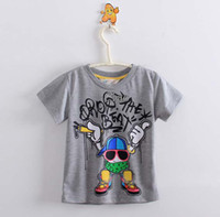 Boy Summer Standard Tee Shirt Child Clothing Boys Cute Cartoon Printed T Shirt Children T Shirts Cotton Shirts Summer Short Sleeve T Shirt Boys Kids Clothes