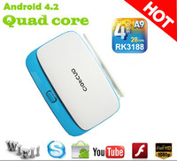 Wholesale HQ P wireless HDMI Quad core android tv box google smart tv box