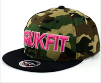 Wholesale Camo Trukfit Snapback hat custom skate MISFIT hats snapbacks snap back cap mixed men women caps Baseball Cap Hat