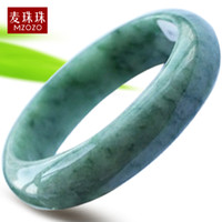 Bohemian burma jadeite jade bangle - Jimmy Burma jade jadeite jade beads natural jade bangle bracelet female models round of sub band Christmas gift certificate