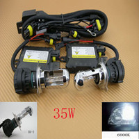 Wholesale 35W Xenon HID Conversion Slim Kit Hi Low Bi H4 K