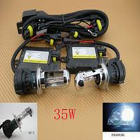 Wholesale 35W Xenon HID Conversion Slim Kit Hi Low Bi H4 K