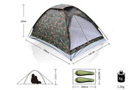 Wholesale outdoors camouflage double resident tent Couple tent