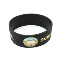 Wholesale Factory price New wide mm inch characters design colors printing smooth backside silicone bracelet wristband