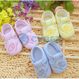 Wholesale Hot Sell Lovely Baby Infant Shoes Toddler Unisex Soft Sole Skid proof Kids Shoe Months Colors