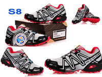 Men Soft Spike  Discount Price 2014 New14 Colors Salomon Speed New Arrived dcross 3 Running Shoes Men's France Walking Track Shoes Casual Sport M&S us7-11.5