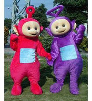 Wholesale teletubbies mascot costumes Halloween costume Christmas party adult size costumes