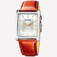 Wholesale 3pcs Man Eyki leather square dial Japan movt quartz watch diving watch waterproof mens