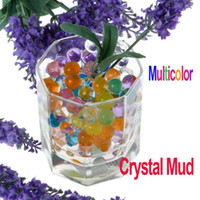 Wholesale About Bags Multi functiona Magical Crystal Mud Soil Water Beads for Flower Plant Multicolor Freeshipping Dropshipping