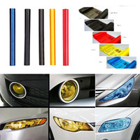 Wholesale 2013 New Hot Colors cm x120cm Auto Car Light Headlight Taillight Tint Vinyl Film Sticker Sheet pc
