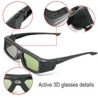 Wholesale Active Shutter Rechargeable D Video Glasses For DLP Link Projector TV BNIB USB