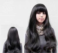 long bang hair