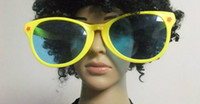 Wholesale Free EMS Unisex Fashion Sunglasses Plastic Party glasses Women and Men Hip Hop Sunglasses L499