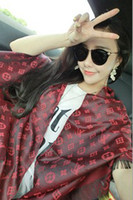 Wholesale 2014 New Fashion Modest Luxury Women Fine Artificial Silk Spring Autumn Printing Scarves Wraps Cappa Colors